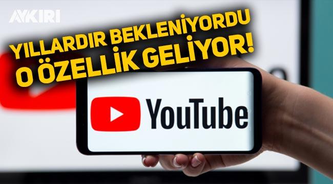 Youtube'a yeni özellik geliyor: Videolar kırpılabilecek!