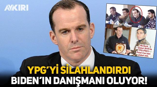 YPG'yi silahlandırdı, Biden'in danışmanı oluyor