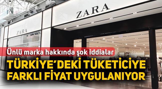 Zara'daki fiyat farklılığı tartışma konusu oldu. Türkiye'deki müşterilerine farklı fiyat mı uygulanıyor!