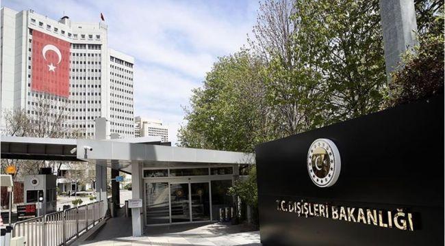 ABD Türkiye Büyükelçisi, Dışişleri Bakanlığı'na çağrıldı