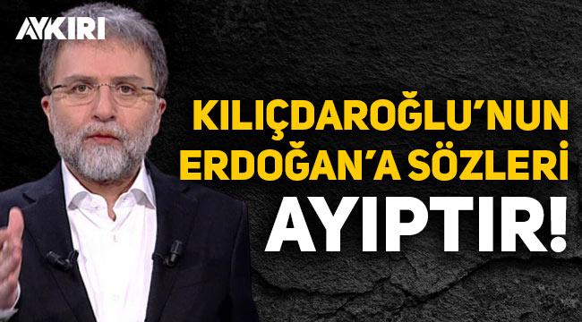 """Ahmet Hakan: Kılıçdaroğlu'nun """"13 şehidin sorumlusu Erdoğan'dır"""" sözleri ayıptır"""