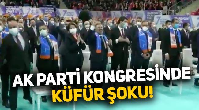 AK Parti Bilecik Kongresi'nde küfür şoku yaşandı!