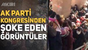 AK Parti İzmir Kongresi'nde tartışmalı görüntüler