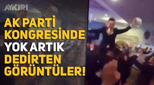 AK Parti'nin Hatay İl kongresinden tartışmalı görüntüler