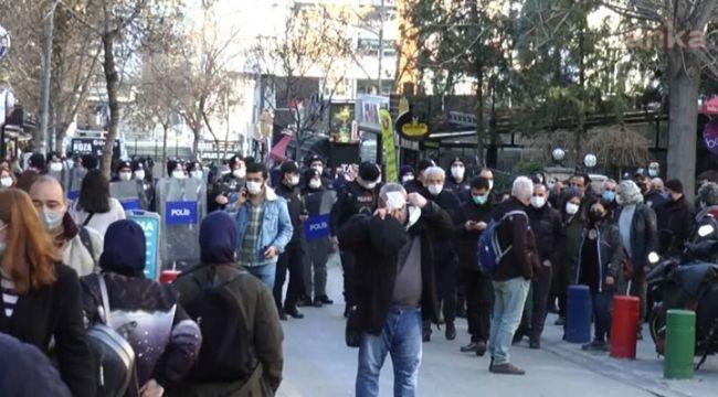 Ankara'da gerçekleşen Boğaziçi eyleminde 30 vatandaş gözaltına alındı