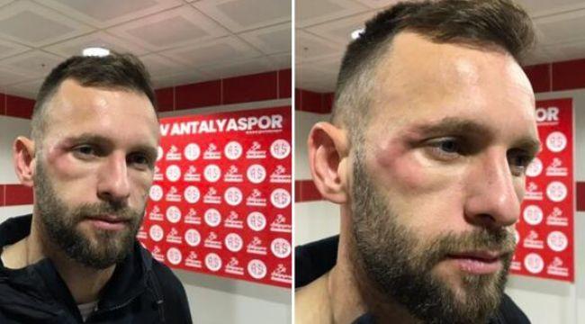 """Antalyaspor'dan Sergen Yalçın'a yanıt """"Keyfimizden yerde yatıyoruz!"""""""