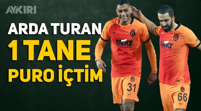 """Arda Turan nasıl oynadı, maç sonu açıklama: """"Tesislerde puro içtim"""""""
