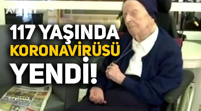 Avrupa'nın en yaşlı insanı olan 117 yaşındaki Lucile Randon koronavirüsü yendi
