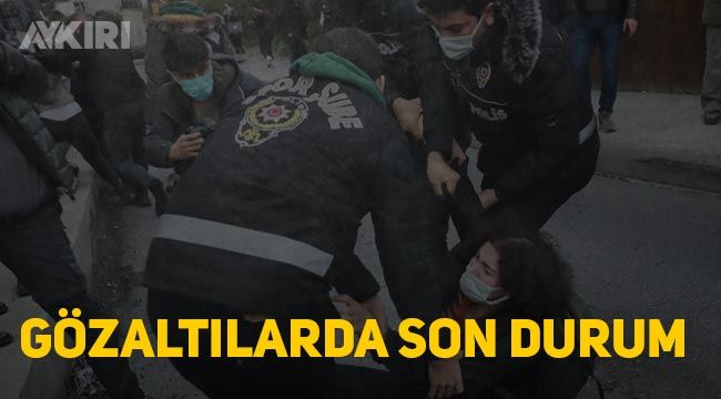 Boğaziçi Eylemlerinde gözaltına alınan 159 kişide 98 serbest