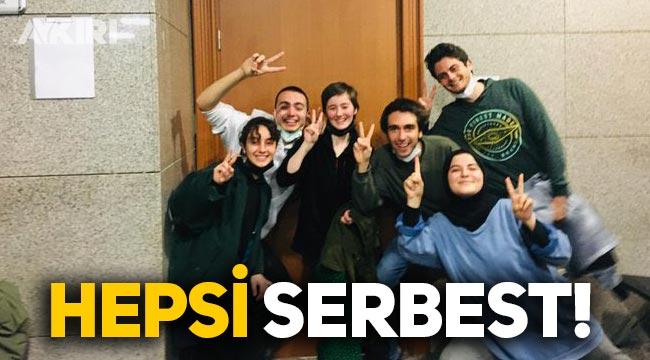 Boğaziçi Üniversitesi öğrencileri serbest!