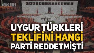 CHP'den Uygur Türkleri çıkışı: