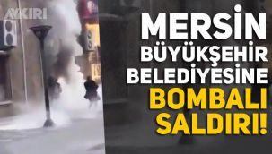 CHP'li Mersin Büyükşehir Belediyesi'ne molotoflu saldırı