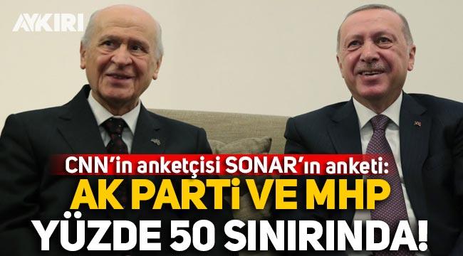 CNN'in anketçisi SONAR son anketini açıkladı: AK Parti ve MHP yüzde 50 sınırında