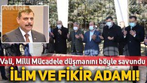 Çorum Valisi, İskilipli Atıf'ın mezarını ziyaret etmesini böyle savundu: