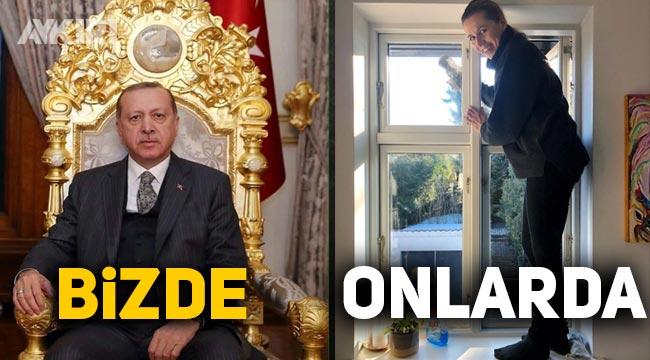 Danimarka Başbakanı Mette Frederiksen cam silerken fotoğrafını paylaştı