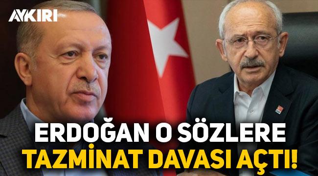 """Erdoğan, """"13 şehidin sorumlusu Erdoğan'dır"""" diyen Kılıçdaroğlu'na 500 bin TL'lik dava açtı"""