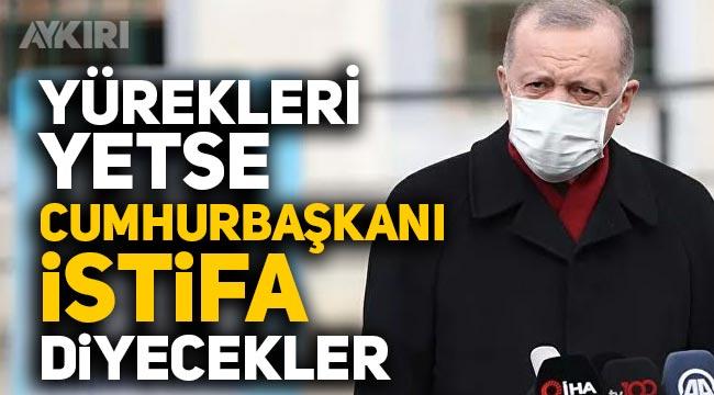"""Erdoğan'dan Boğaziçi eylemleri yorumu: Yürekleri yetse """"Cumhurbaşkanı istifa"""" diyecekler"""