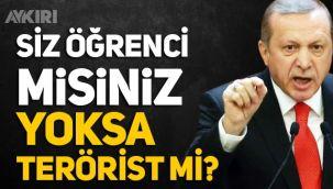 Erdoğan'dan Boğaziçi eylemlerine tepki: