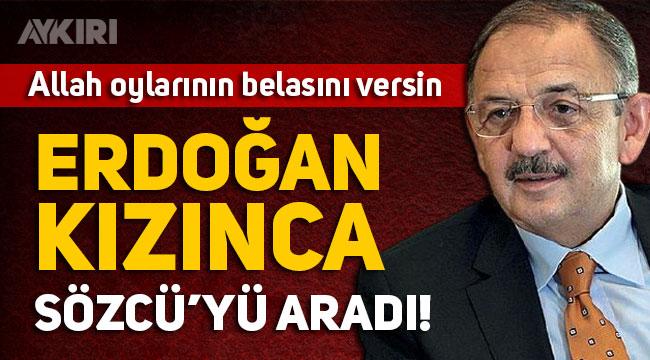 Erdoğan, Mehmet Özhaseki'yi uyardı, HDP oyları açıklamasına düzeltme geldi