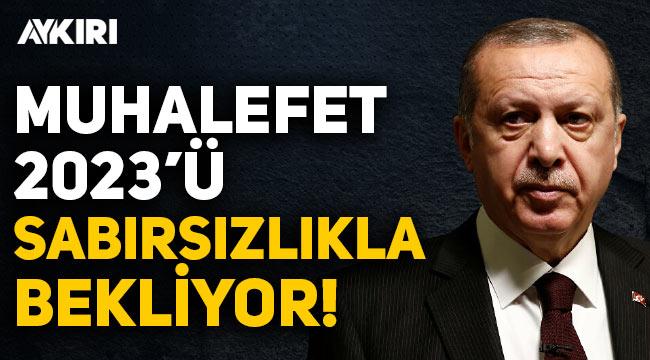 Erdoğan: Muhalefet 2023 seçimlerini sabırsızlıkla bekliyor