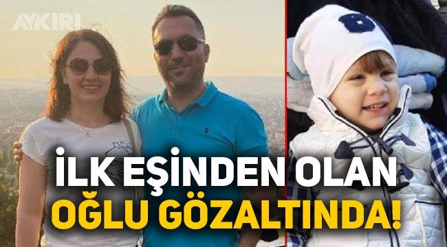 Eskişehir'de bıçakla öldürülen aile olayında cinayet şüphelisi kocanın ilk eşinden olan oğlu!