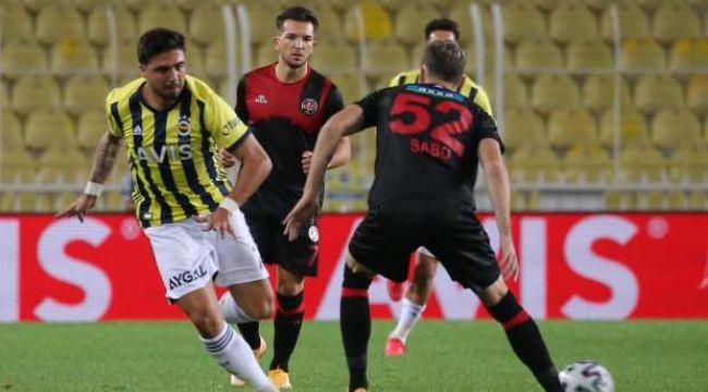 Fenerbahçe, deplasmanda Karagümrük'ü 2-1 mağlup etti