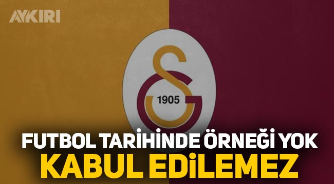 """Galatasaray: """"Arda Turan'a verilen ceza kabul edilemez, futbol tarihinde bir ilktir"""""""