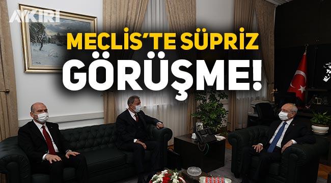 Hulusi Akar ve Süleyman Soylu'dan 3 partiye Gara bilgilendirmesi
