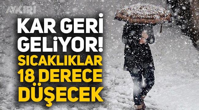 İstanbul'a kar ne zaman geliyor? Meteorolojiden açıklama