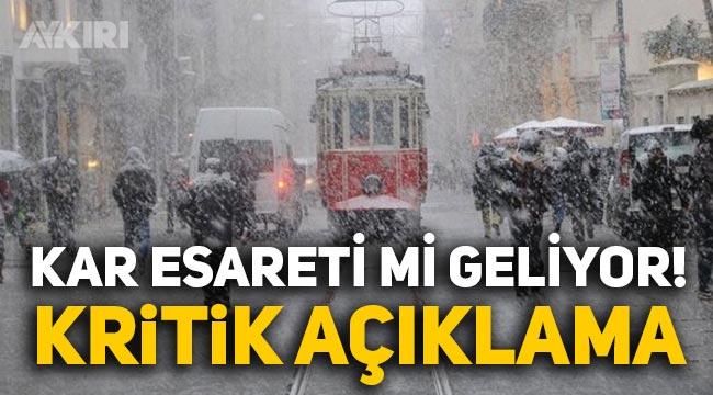 İstanbul'da kar kalınlığı 20-30 santimetreyi bulacak: Haftayı kilitleyecek bir sistem