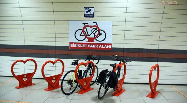 İstanbul'da metro istasyonlarına bisiklet parkları kuruluyor