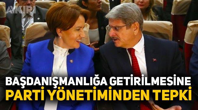 İYİ Parti'de Aytun Çıray'ın başdanışman olmasına Müsavat Dervişoğlu'ndan tepki