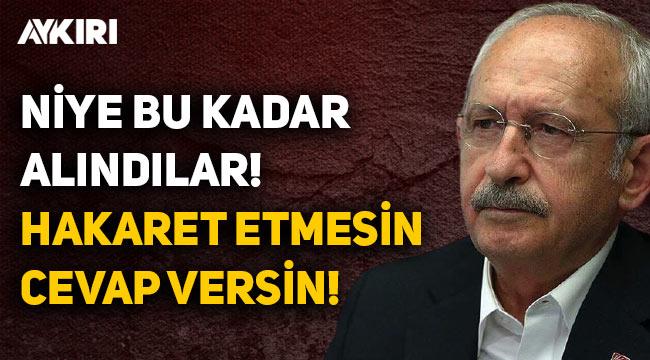 Kılıçdaroğlu'ndan Erdoğan'a: 5 soru sordum, hakaret etmesin, cevap versin!