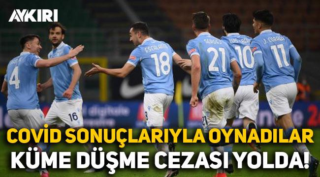 Koronavirüs test sonuçlarını değiştirdiler: İtalyan ekibi Lazio alt lige düşürülebilir
