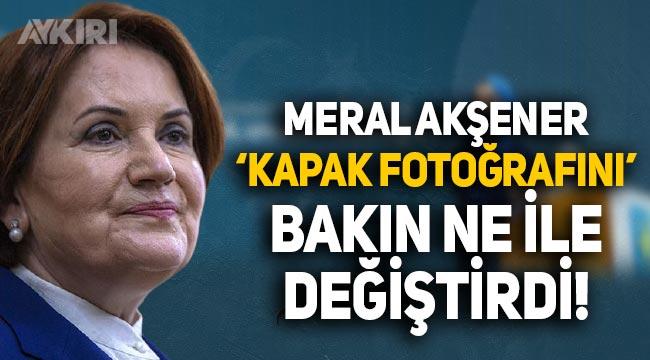 Meral Akşener, kürsüye çıkardığı Uygur Türkü Nursima'yı kapak fotoğrafı yaptı