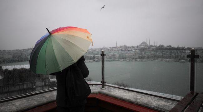 Meteoroji'den İstanbul açıklaması! Kar gidiyor...