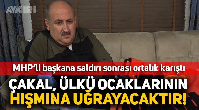 MHP'li Yahşihan Belediye Başkanı Osman Türkyılmaz saldırıya uğradı, Ülkü Ocaklarından çok sert açıklama geldi