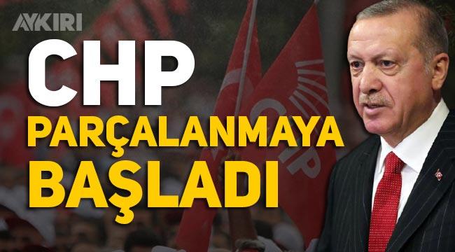 """Muharrem İnce'nin istifasını açıkladığı anlarda Erdoğan: """"CHP parçalanmaya başladı"""""""