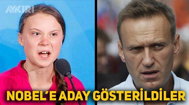 Nobel Barış ödülü Navalni'ye gidebilir
