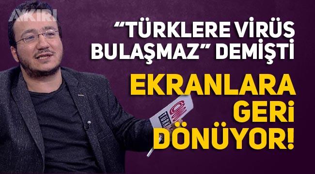 Oytun Erbaş televizyon programı sunacak, Virüs Türklere bulaşmaz demişti