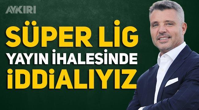 Sadettin Saran: Süper Lig'in yeni yayın ihalesinde iddialıyız