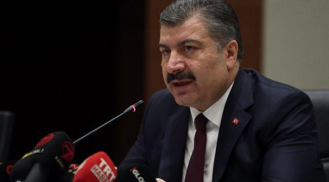 Sağlık Bakanı Koca'dan mutasyonlar ve vakalar ile ilgili açıklama