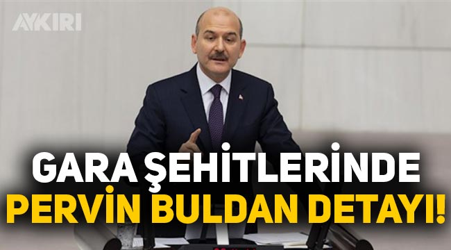 Süleyman Soylu, Gara'da şehit edilen asker ve polislerimizle ilgili Pervin Buldan'ın bir süre misafir edilecekler dediğini açıkladı