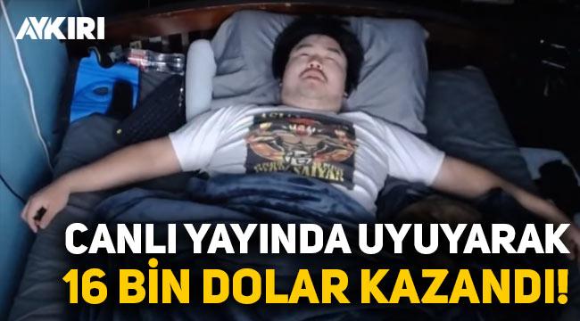 Twitch yayıncısı Asian Andy, uyuyarak 16 bin dolar kazandı!