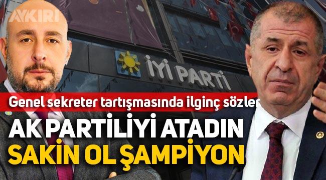 Ümit Özdağ, İYİ parti genel sekreteri Uğur Poyraz'ın AK Partili olduğunu söyledi, Poyraz'dan yanıt geldi