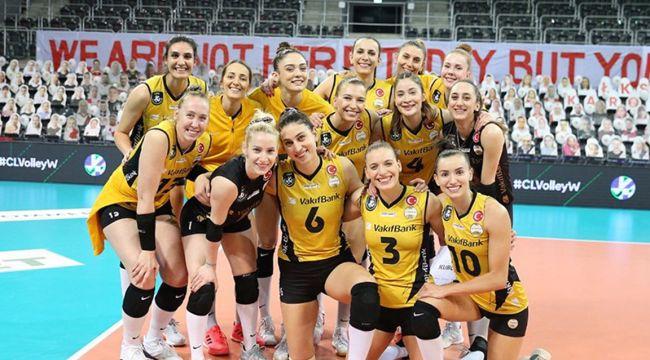 VakıfBank, CEV Şampiyonlar Ligi'nde çeyrek finalde
