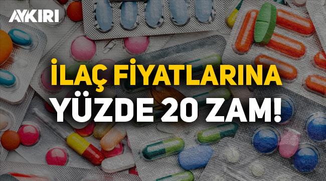 Yeni yılda zamlar bitmiyor: İlaç fiyatlarına yüzde 20 zam geliyor!