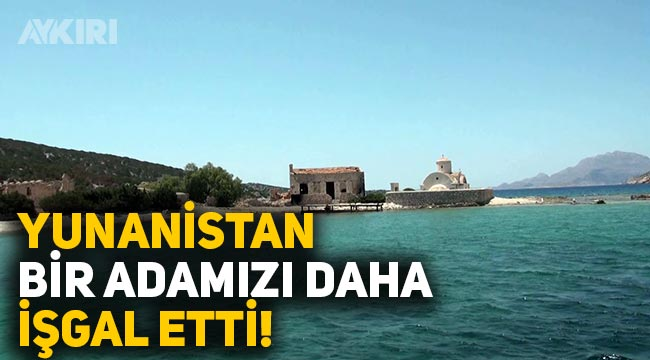 Yunanistan, Türkiye'ye ait Limoniye adasına turist götürmeye başladı!