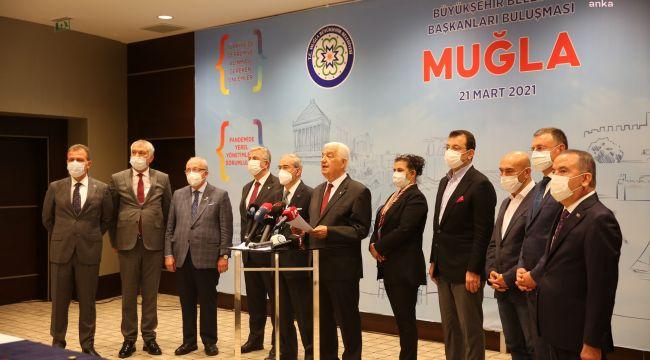 11 büyükşehir belediye başkanından 'İstanbul Sözleşmesi' çağrısı