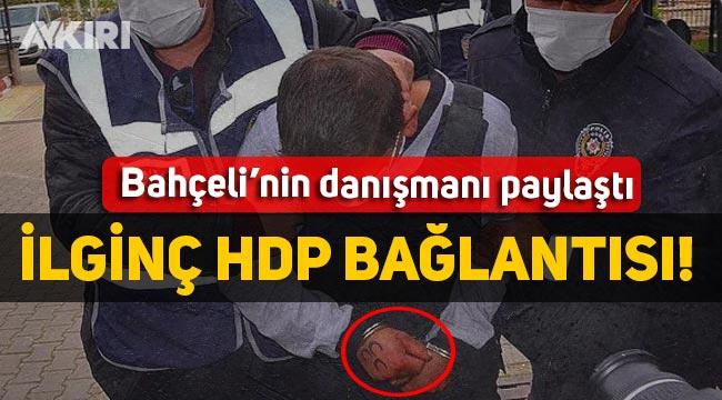 3 hilal dövmeli katille ilgili ilginç detay, daha önce HDP'li sayfaları beğenmiş
